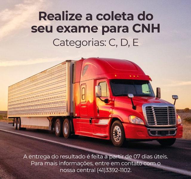Coleta Exame CNH