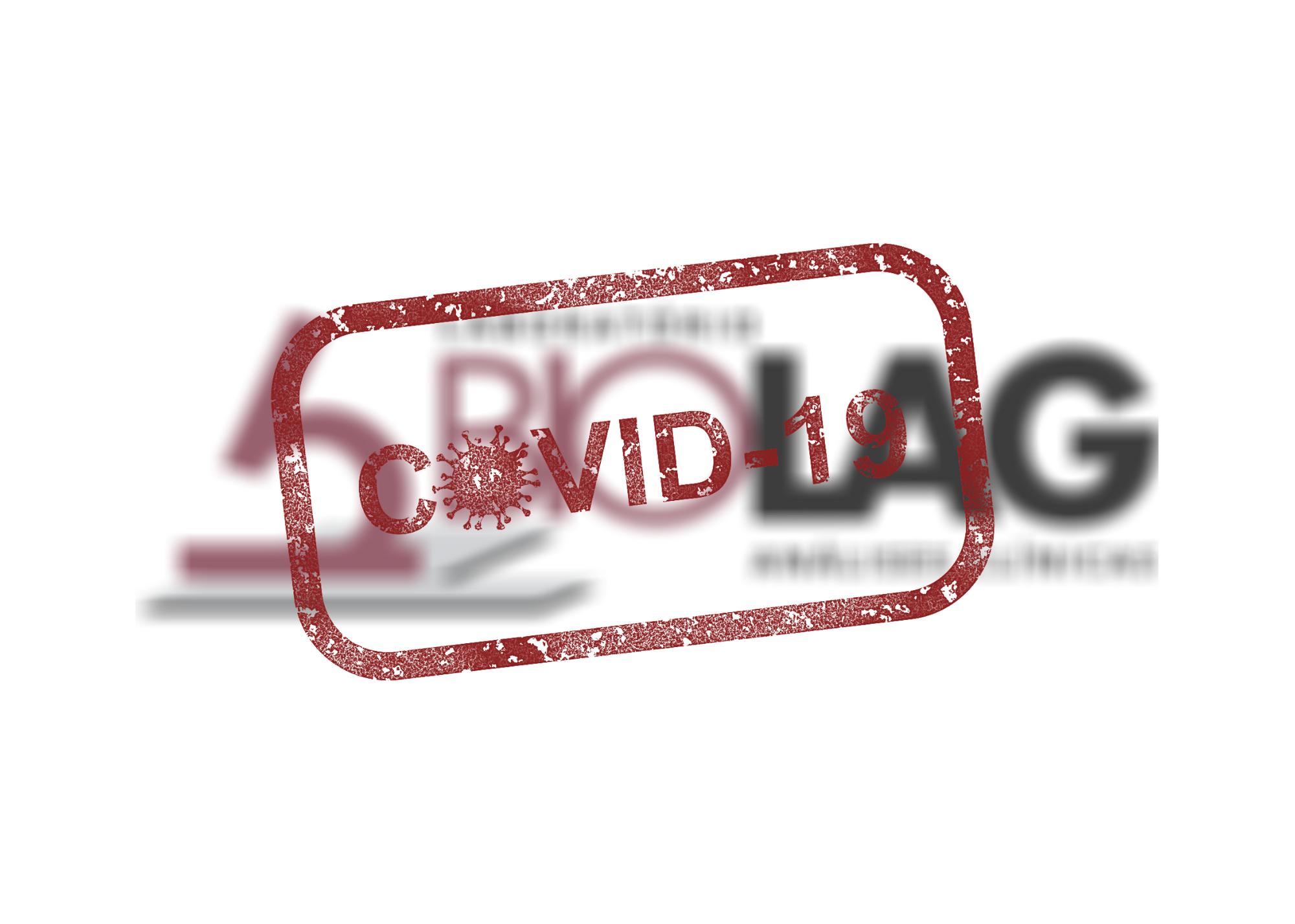 Laboratório Biolag frente ao coronavírus (COVID-19)